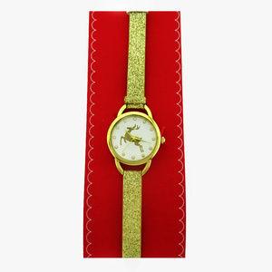Macy's Gold-Tone & Crystal Bracelet Watch$25.00